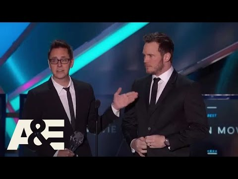 """Guardians of the Galaxy"" Wins Best Action Movie - 2015 Critics' Choice Movie Awards 