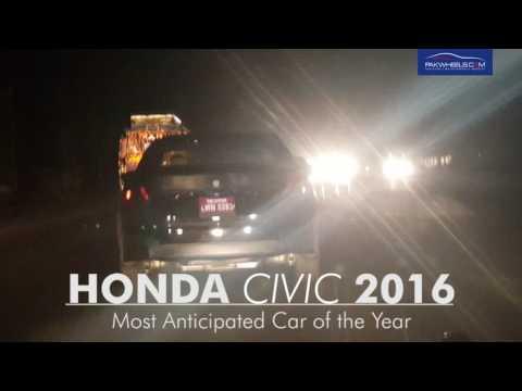 2016 Honda Civic Spied in Pakistan!