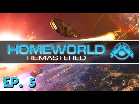 Homeworld Remastered - Ep. 5 - Breaking through the Asteroid Belt! - Let's Play