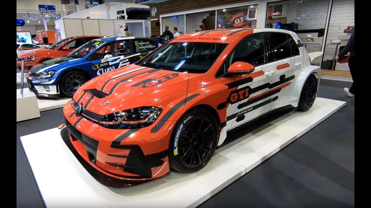 VOLKSWAGEN VW GOLF 7 GTI TCR FACELIFT RACING CAR COMPILATION 2 WALKAROUND + INTERIOR - YouTube