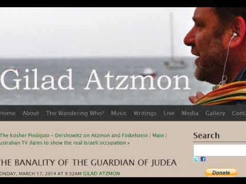 Who promised Palestine to Netanyahu's secular Jews? Spot the contradiction with Gilad Atzmon