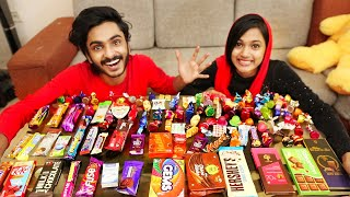 i ATE ALL TYPE OF CHOCOLATE 🤩 ഇത്‌ പോളിക്കു UNBOXINGDUDE l