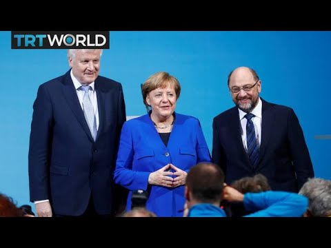 German Politics: SPD vote on whether to join Merkel coalition