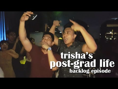 """TRISHA'S POST-GRAD LIFE 