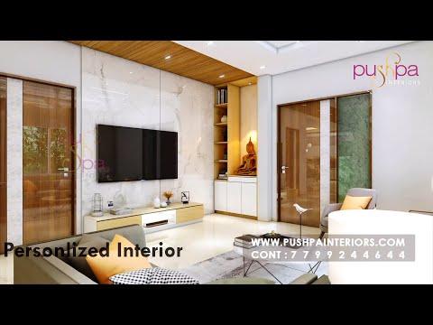 Vessella Meadows 4bhk West Phase villas@Narsingi Interior Design By pushpa Interiors
