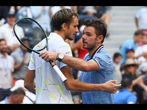 Stan Wawrinka vs. Daniil Medvedev   US Open 2019 Quarter Final Highlights