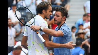 Stan Wawrinka vs. Daniil Medvedev | US Open 2019 Quarter Final Highlights