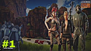 legends royale gameplay   online game   in android and iOS