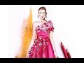 Fashion Illustration - Marchesa pre fall 2017 | Nina Mid Illustrations