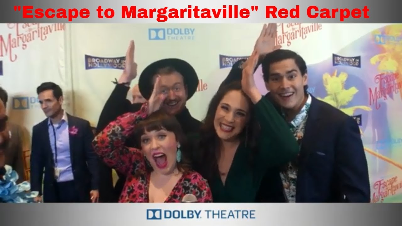 """Jimmy Buffett's """"Escape To Margaritaville"""" Lands at Dolby Theatre"""