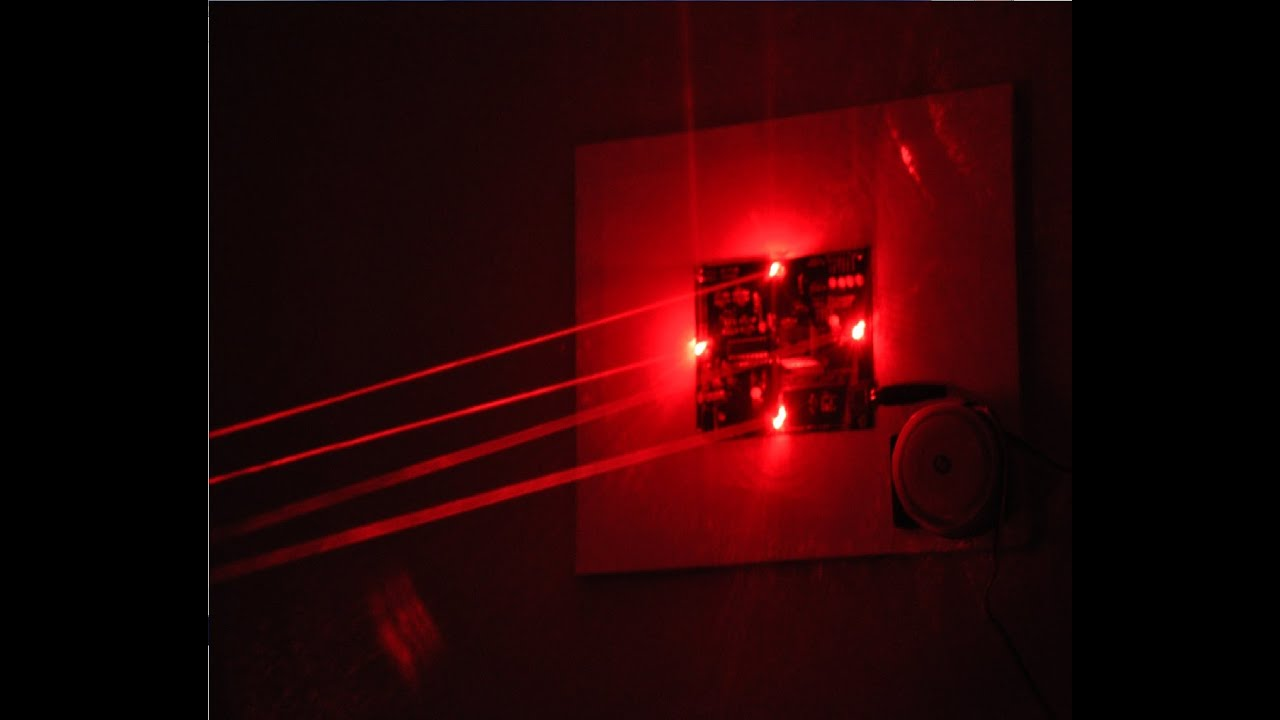 The Ultimate Laser Trip Wire Security System Kickstarter Campaign Light Fence Beeper Youtube