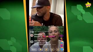 """Alex rodriguez and fiancé jennifer lopez join diddy on his ig live, where the rap mogul gets a-rod to dance """"been around world"""" remix, despite j-l..."""
