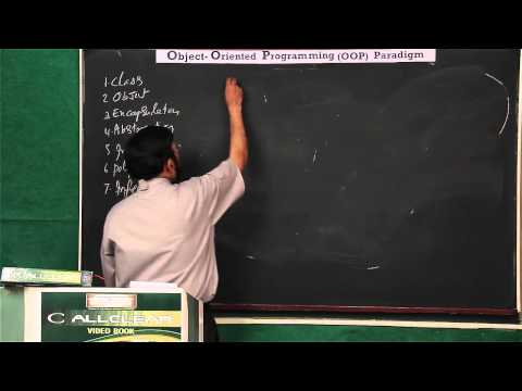 Lecture 3: Object Oriented Programming (OOP) Paradigm