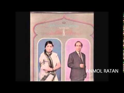 TALAT MAHMOOD-LATA MANGESHKAR LIST 1