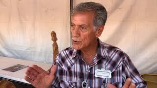 Santa Fe Spanish Market - Artist Interview - Frank A. Salazar | Woodcarver