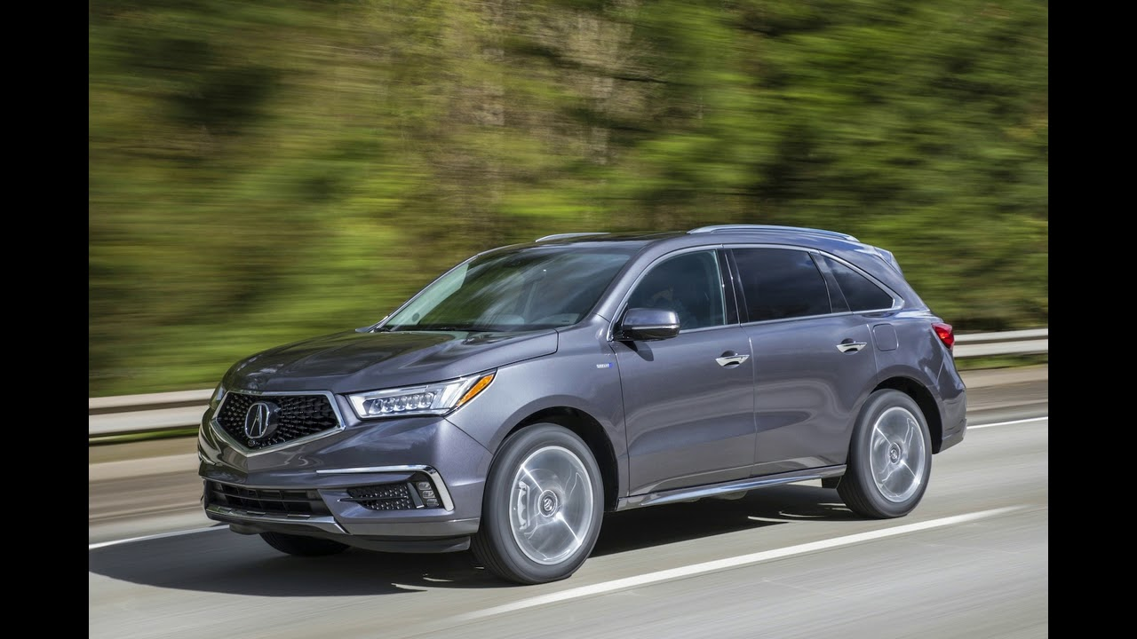 2018 Honda Hybrid Acura Mdx Sport Is A Good Thing Made More