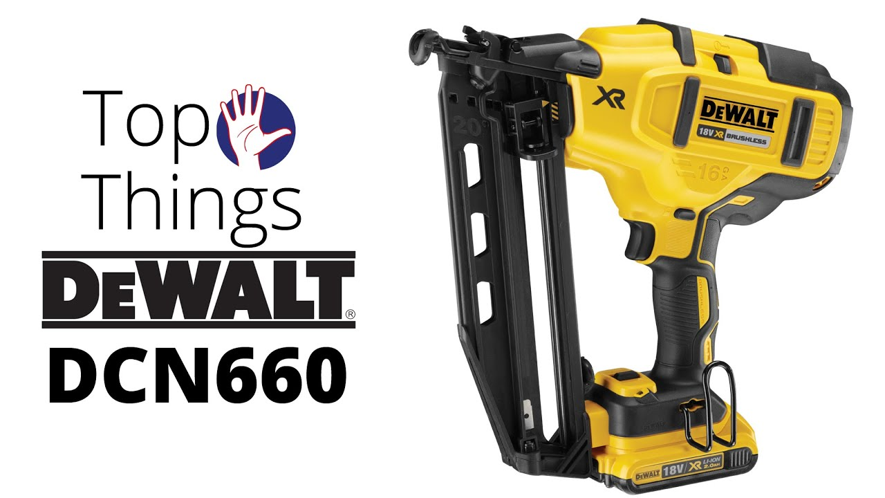 DeWALT DCN660 2nd Fix Nailer - the Top 5 Things You Need to Know ...