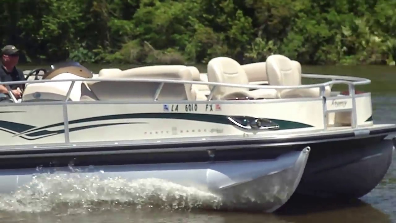 2011 22\u0027SUN TRACKER PARTY BARGE SPORT FISH w/MERCURY 115 FOUR ...