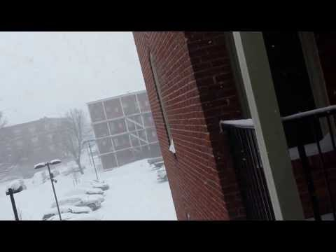 biggest Snowstorm in Springfield Massachusetts Today Thursday Feb. 13.2014