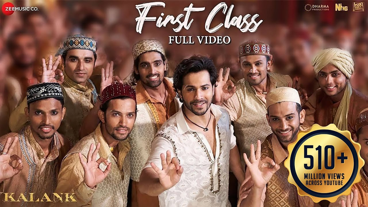 Kalank - First Class | Varun Dhawan , Alia Bhatt , Kiara Advani | Arijit Singh | Pritam | Amitabh B
