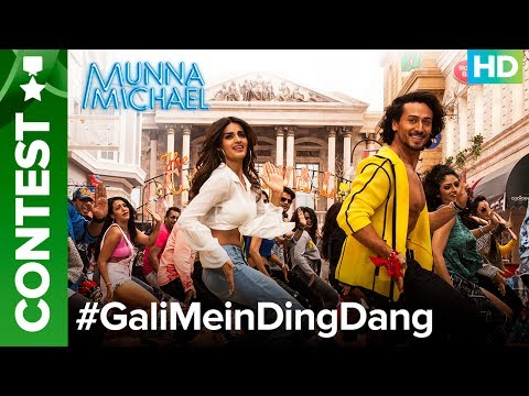 Thumbnail: Do #GaliMeinDingDang Contest with Tiger Shroff & Niddhi Agerwal