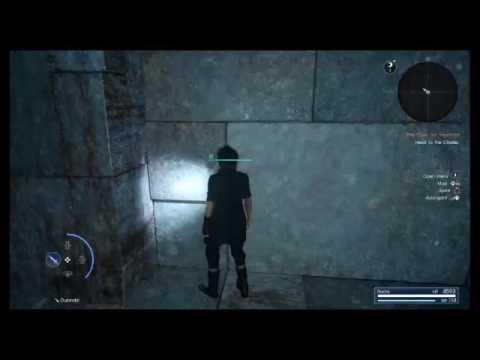 THEHUNTERBIA's Live PS4 Ff15 secret dungeon atempt 1