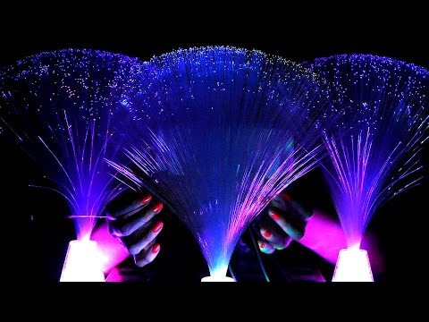 Fiber Optic Ear Massage & ASMR Binaural Whispering for Sleep, Relaxing Meditation