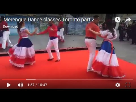 Toronto Dance Merengue Live  Beginners Classes | LATIN ENERGY CBC Live