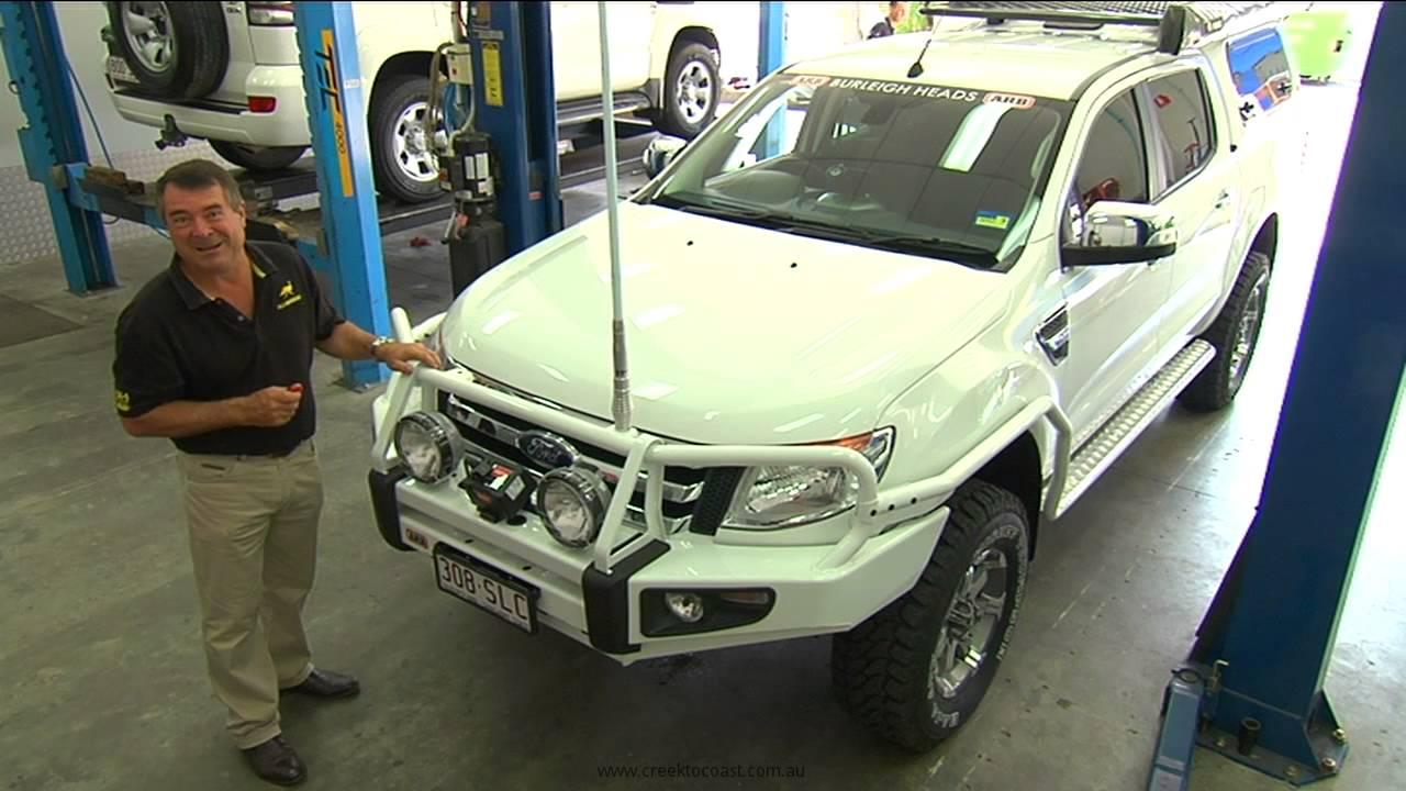 ARB Ford Ranger Buildup - YouTube