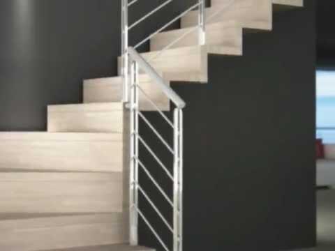 Scale a giorno mobirolo akura scale per interni scale in legno scale in acciaio youtube - Scale in marmo per interni moderne ...