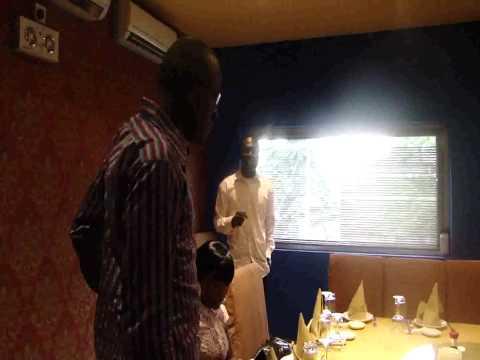 Akinbayo Oluwunmi's  Surprise Party at Marcopolo V.I Lagos 22082010