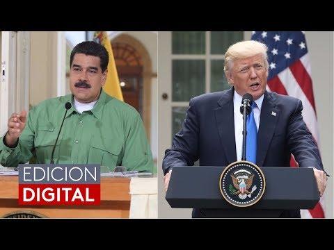 Nicolás Maduro dice que quiere mejorar su relación con EEUU y reunirse con Donald Trump