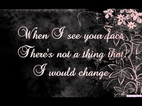 Just the way you are w/ lyrics - Female Version
