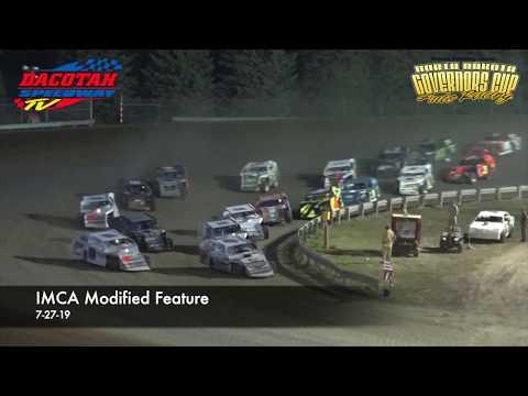 Dacotah Speedway | IMCA Modifieds | 7-27-19