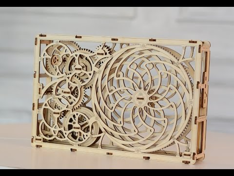 Kinetic picture by WOODEN CITY - YouTube