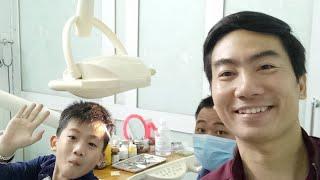 Ngày Nghỉ Thứ 6 Đưa Con Trai Điều Trị Tủy Răng.