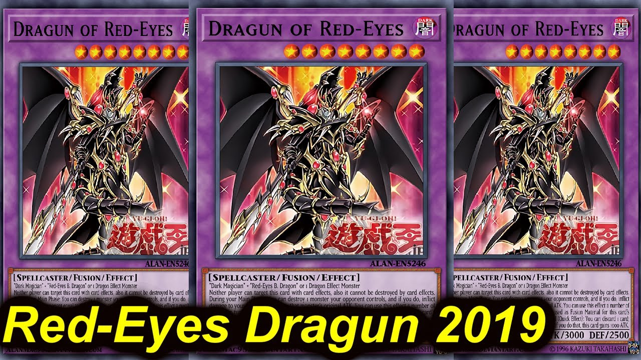 Ygopro New Red Eyes Dragun Support Deck 2019 Youtube One of my favourite card designs! ygopro new red eyes dragun support deck 2019