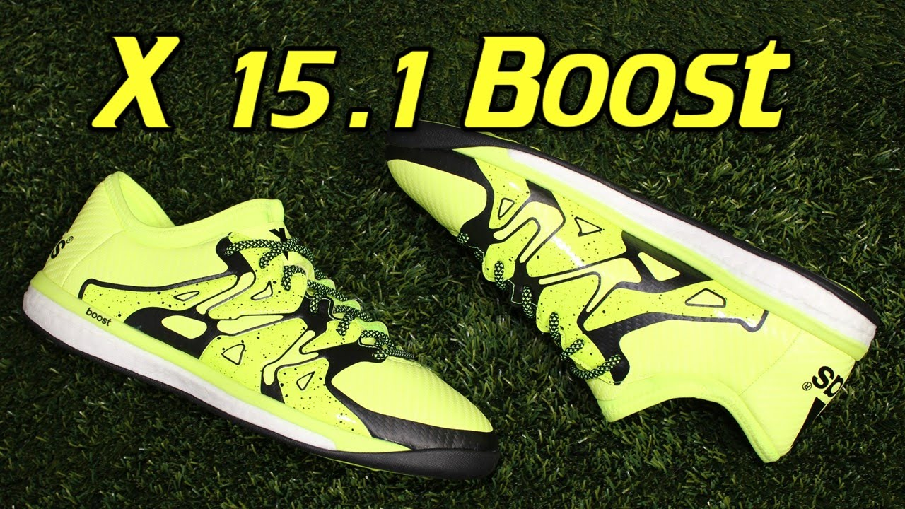 Adidas X 15.1 Boost Indoor Solar Yellow - Review + On Feet