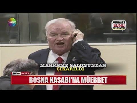 Bosna Kasabı'na müebbet