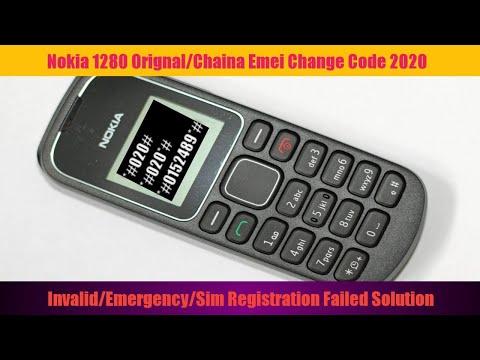 All Nokia 1280 Invalid/Emergency/No Sim/Sim Registration Failed Solution 2020 Without Soft Pc Box
