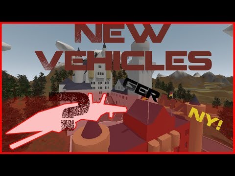 All New Germany Map Vehicles With IDs | Unturned Update 3.20.0.0
