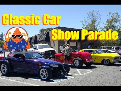 Saratoga Classic Car Show Tri City Drive 7th Annual Cool Car Cruise Parade 2016 NachoTV