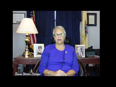 BONNIE WATSON COLEMAN WELCOMES THE 115TH CONGRESS