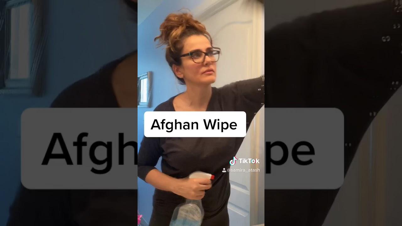 afghan wipe