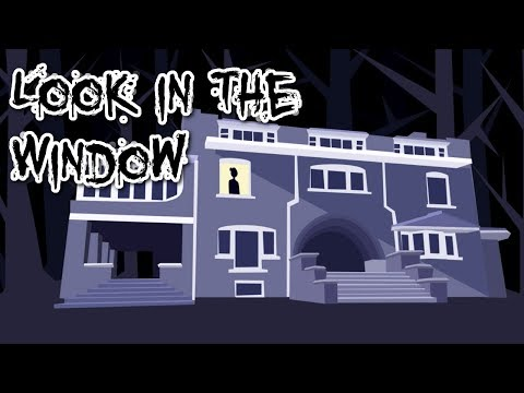 Look In The Window - A Short Horror Story, MANLY READS