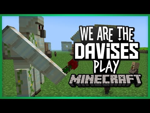 The Iron Golem Pit   Minecraft EP-22   Gaming With Shawn Davis