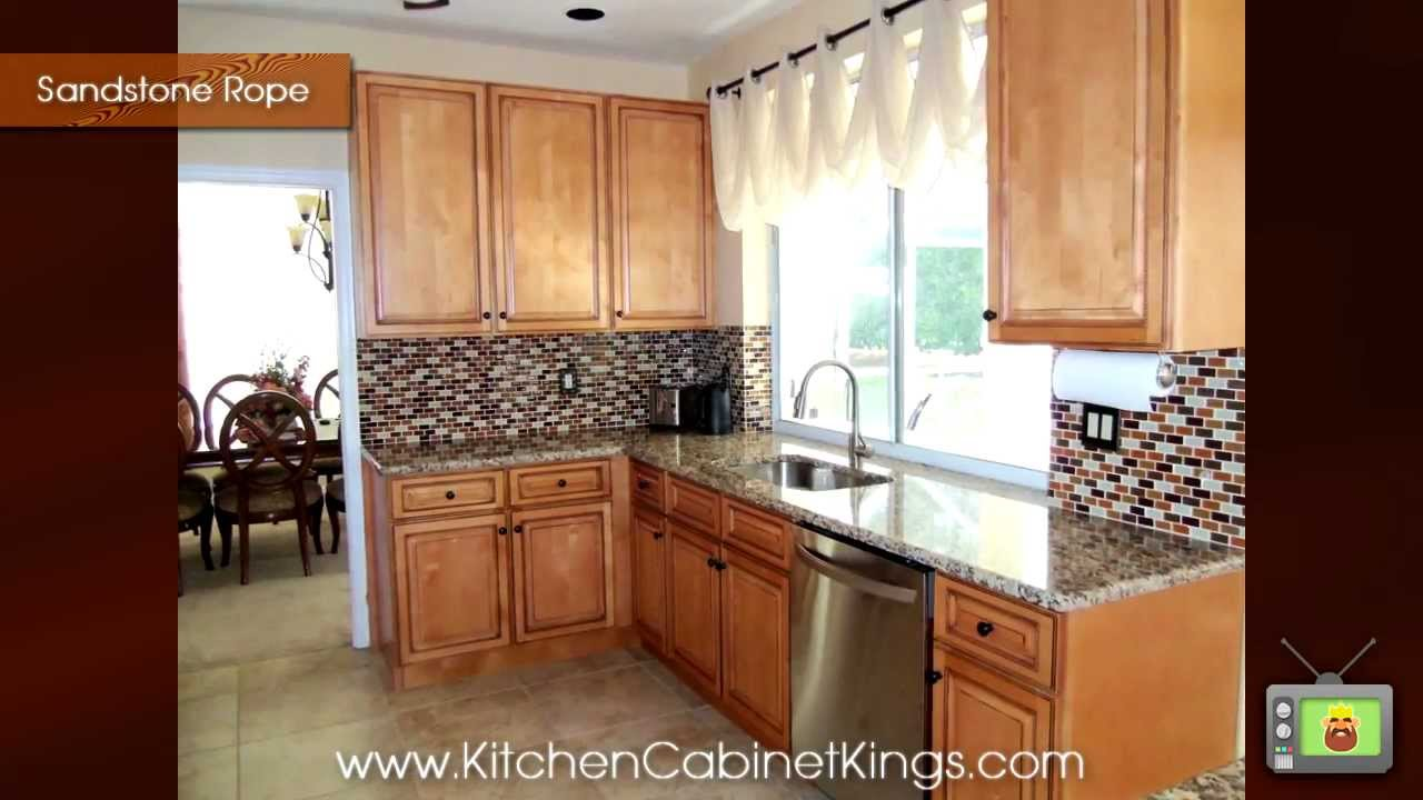 Sandstone Rope Kitchen Cabinets By Kitchen Cabinet Kings
