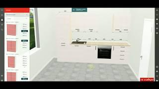 Конструктор кухонь М:32. Інструкція, крок 2