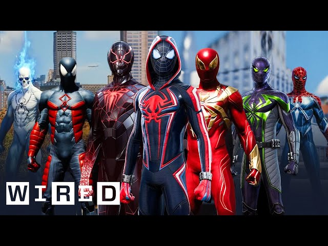 Every Spider-Man Suit From Marvel's Spider-Man: Miles Morales & Spider-Man Explained   WIRED