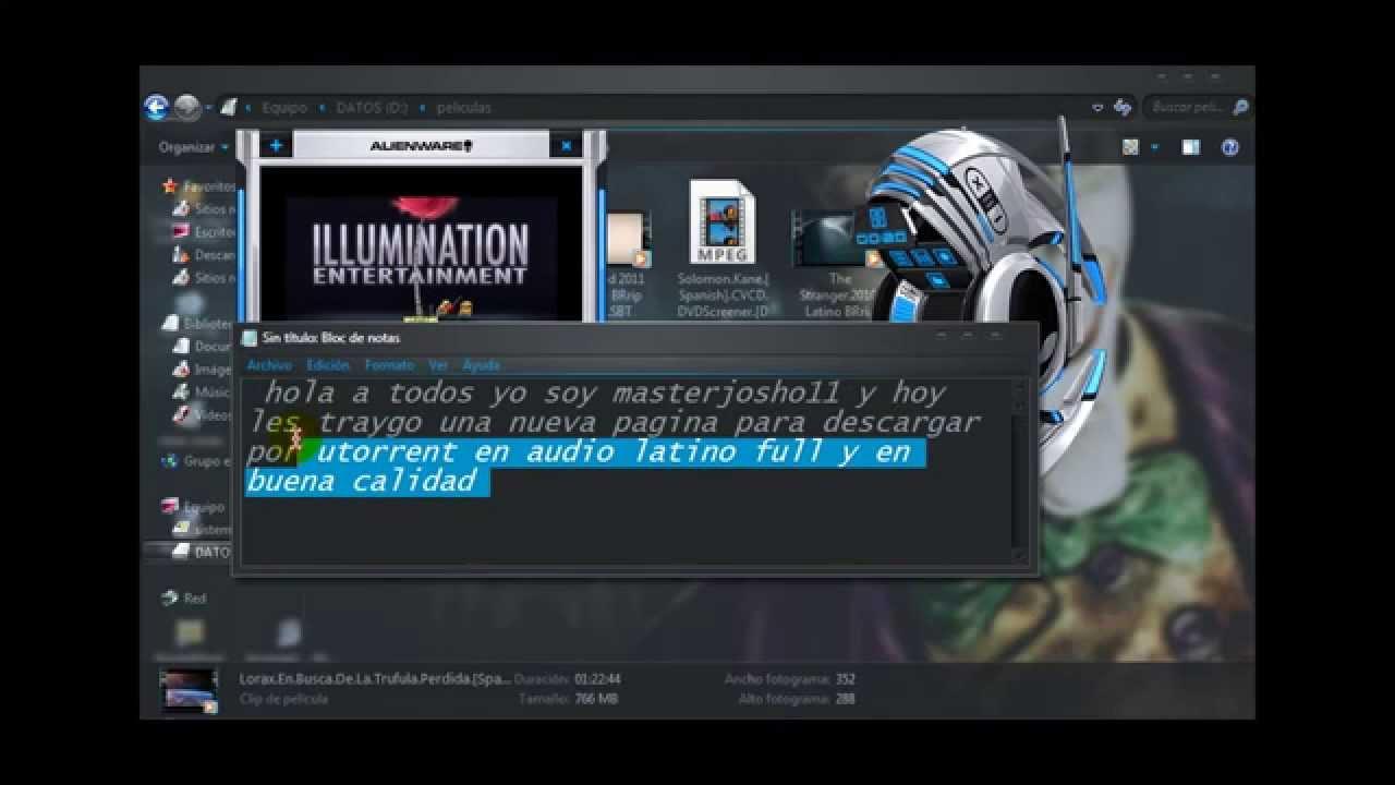 paginas para descargar peliculas utorrent en español latino
